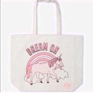 Handbags - Dream on unicorn tote bag